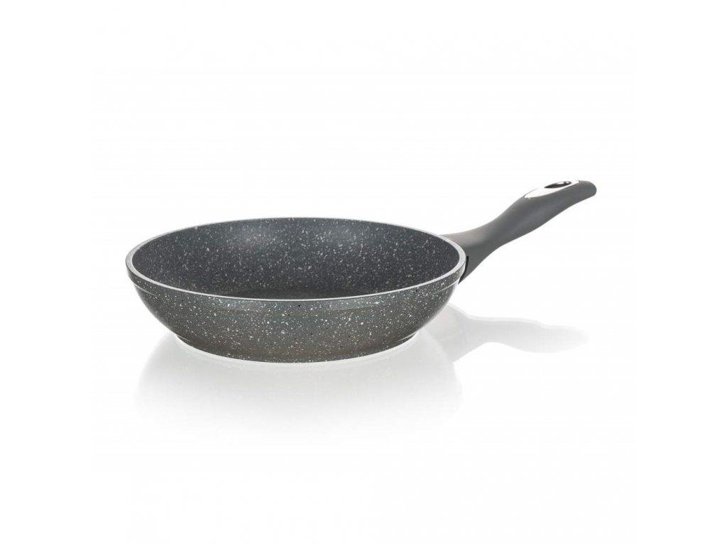 BANQUET Pánev s nepřilnavým povrchem GRANITE Grey 20 cm