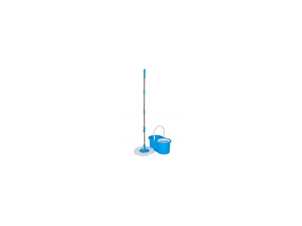 BRILANZ Mop set ROTERO, 2 ks hlavic, modrý