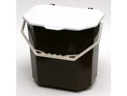 Plastový odpadkový koš Antek,10 l