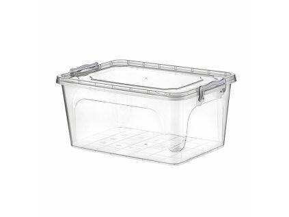 Plastový úložný box s víkem, 5 l
