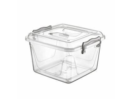 Plastový úložný box Multi nízký 6 l