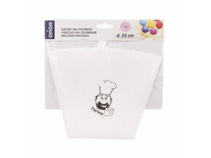 Sáček na zdobení bavlna/guma 35 cm