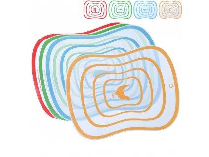 Plastová krájecí podložka 40,5 x 30,5 cm, 4 ks