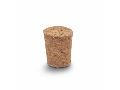 Zátka korek 10 ks 2/1,7x2,6 cm