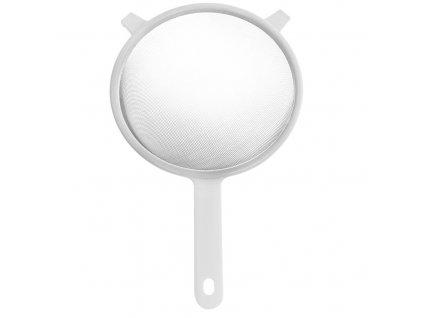 Nerezové sítko s plastovou rukojetí 20 cm