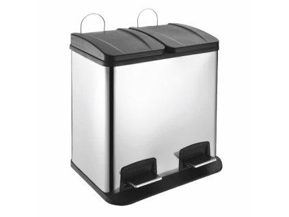 Odpadkový koš na tříděný odpad 2x20 l