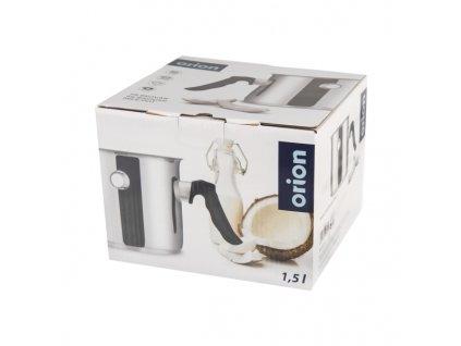Nerezový mlékovar s dvojitou stěnou, 1,5 l
