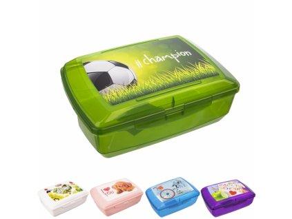 Plastový box na svačinu Bran 20,5 x 13,5 x 7,5 cm