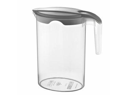 Plastový džbán s víkem 1,75 l