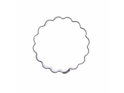 Nerezové vykrajovátko Kolečko vlnky 4 cm