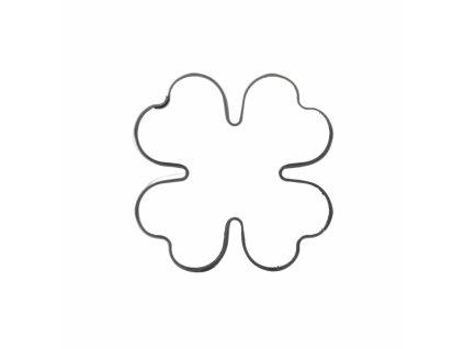 Nerezové vykrajovátko Čtyřlístek 3 x 3 cm