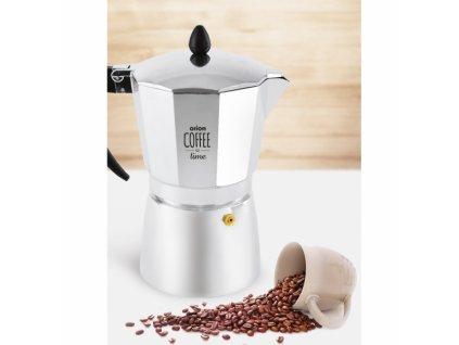 Hliníkový kávovar pro přípravu espressa, 0,3 l