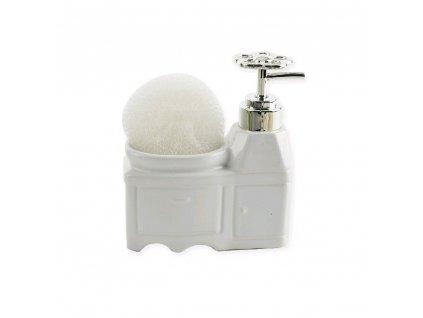 Porcelánový dávkovač mýdla Skříňka, 0,33 l