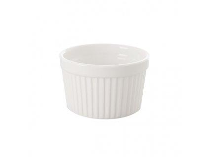 Porcelánová zapékací miska bílá 9 cm
