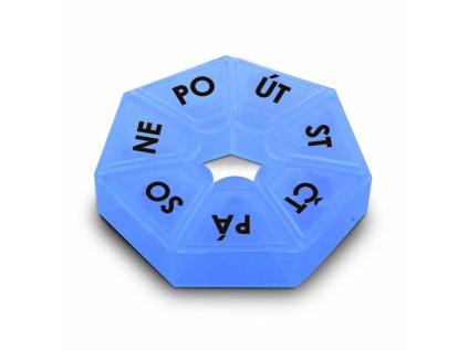 Plastový box na léky pondělí až pátek 7,5 cm