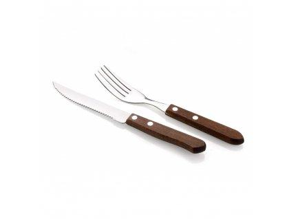 Sada jídelních příborů na steaky Vetro, 12 ks