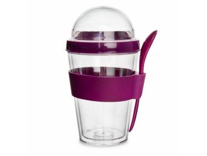 Plastový pohár na jogurt 0,4 l