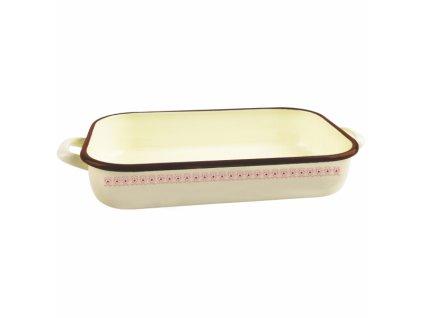 Smaltovaný pekáč Tonča 37,5 x 24,5 cm