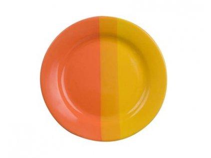 BANQUET Talíř keramický dezertní 19 cm, oranžovožlutý