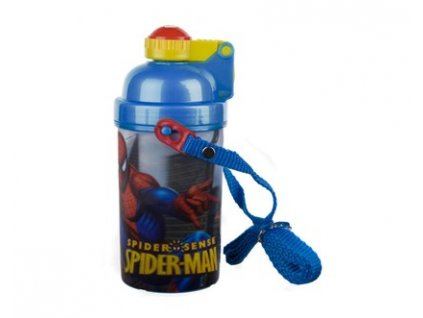 BANQUET Láhev plastová SPIDERMAN 380 ml