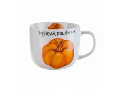 BANQUET Hrnek keramický DÝŇOVÁ POLÉVKA 730 ml, CZ