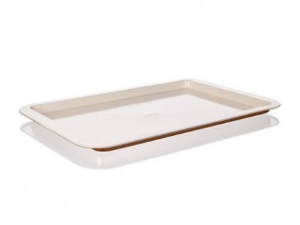 62310 1 banquet plech melky s keramickym povrchem gourmet ceramia 43 5x29 5x2 cm