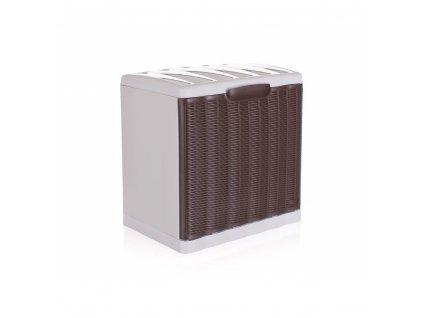 Botník Rattan Elegance Line hnědý 40x30x40cm