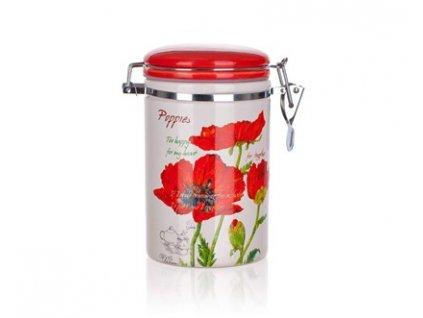 BANQUET Dóza keramická RED POPPY 750 ml