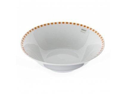 BANQUET Mísa porcelánová CUBITO Orange 22,9 cm