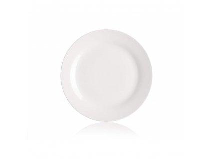 BANQUET Talíř porcelánový mělký 26,5 cm, nedekorovaný