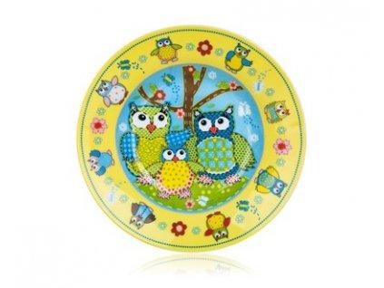 BANQUET Talíř dětský hluboký OWLS 20 cm