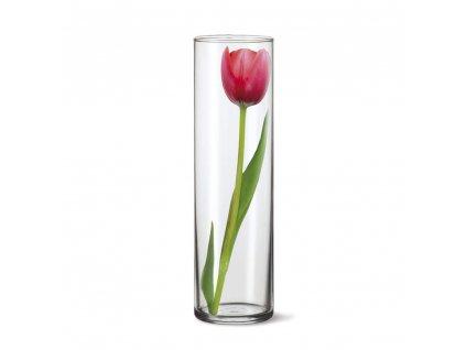 SIMAX Váza skleněná DRUM II 27,5 x 8,4 cm