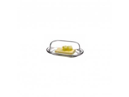 Skleněná máslenka Vetro Pasabahce, 20 x 13 cm