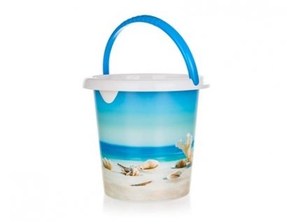 BRILANZ Kbelík plastový SEA 10 l, 29 x 27,5 cm
