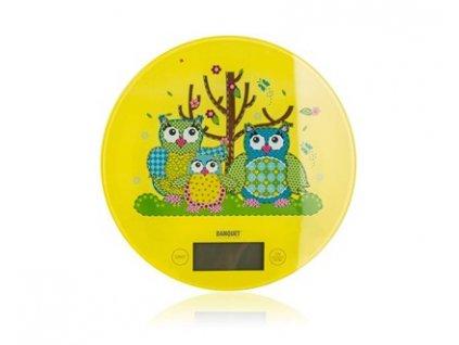 Digitální kuchyňská váha Banquet Owls, 5 kg