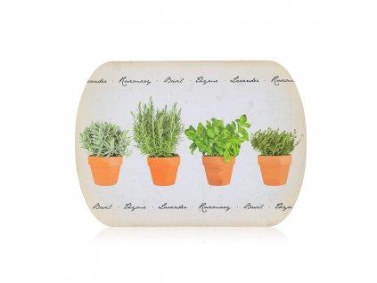 Korkové prostírání Banquet Retro Herbs, 39 x 28 cm