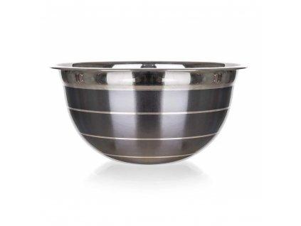 Nerezová mísa Banquet Avanza šedá, 16,5 cm