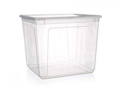Plastový úložný box s víkem Keeeper, objem 30 l