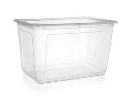 Plastový úložný box s víkem Keeeper, 52 l