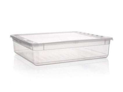 Plastový úložný box s víkem Keeeper, 9 l