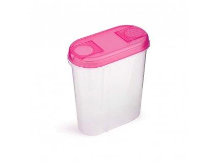 Dávkovací plastová dóza Vetro, 2 l