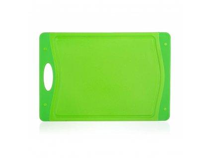 Plastové krájecí prkénko Banquet Duo Green,  29 x 19,5 cm
