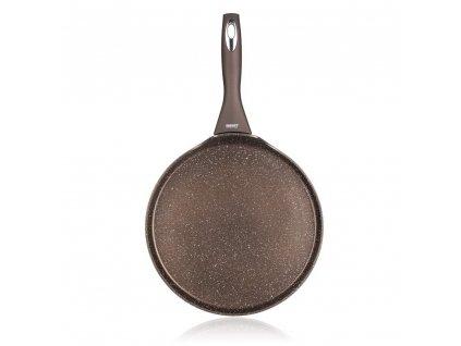 Pánev na palačinky s nepřilnavým povrchem Banquet Premium Dark Brown, průměr 24 cm