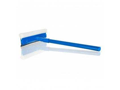 BRILANZ Stěrka na okna s gumovou lištou 23 cm a houbou, teleskopická rukojeť