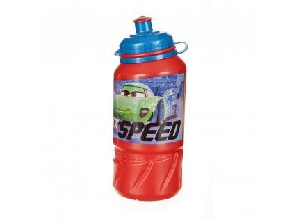 BANQUET Láhev plastová sportovní EASY CARS RACERS EDGE 420 ml