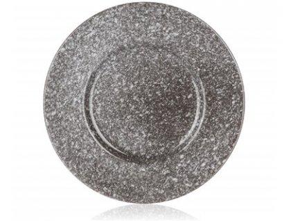 Keramický dezertní talíř Granite, 22,5 cm