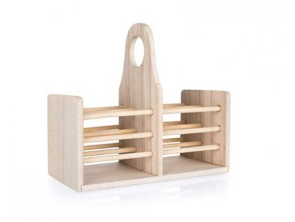 APETIT Stojan dřevěný na kuchyňské náčiní APETIT 20 x 10 x 18 cm