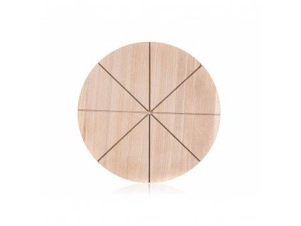 Dřevěné krájecí prkénko na pizzu Banquet Brillante, průměr 32 cm