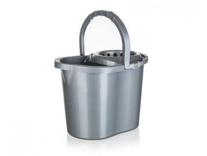 Úklidový kbelík se ždímačem Brilanz, objem 13 l