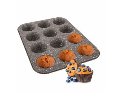 Nepřilnavý plech na muffiny Grande 35 x 26,5 cm